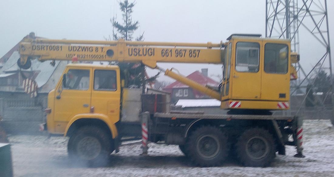 Żuraw DSRT0081 na podwoziu STAR 266 - do wynajęcia Koszalin